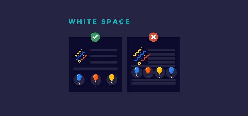 Reasons Why Empty Space is so Useful in Web Design