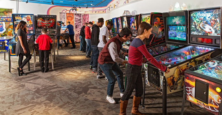 Pinball Game Gallery Is For A Pinball Machine